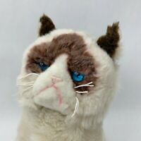 """Gund GRUMPY CAT Plush Famous Realistic Himalayan Cat Stuffed Animal Sitting 10"""""""