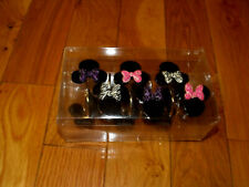 Disney Minnie Mouse Diva Lot 12 Shower Curtain Hooks Nwot