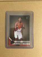 2019-20 PANINI CLEARLY DONRUSS RUI HACHIMURA RATED ROOKIE RC SP WIZARDS