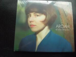 AROAH   -   EL  DIA  DESPUES      CD  2007  ,    SPANISH  FOLK , POP,  ,  NEU