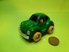 CHINA VINTAGE VW VOLKSWAGEN BEETLE KAFER - APPEARING PET - GREEN L10.0cm - GOOD