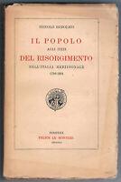 1926 - ITALIA MERIDIONALE - RISORGIMENTO - RODOLICO