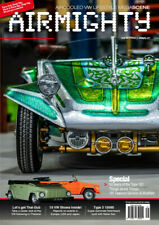 AIRMIGHTY MEGASCENE AIR COOLED VW LIFESTYLE MAGAZINE ISSUE #35 NOTCH THING BUGGY
