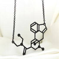 Women And Men Fashion Jewelry Necklace Structure Formula Necklace Biological