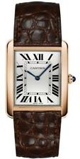 Brand New Cartier Tank Solo Solid 18k Rose Gold Quartz Watch for Sale W5200025