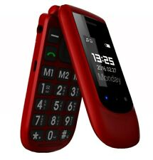 Unlocked Cell Phone Designed For Seniors with Big Sos Button Gsm & Stand -b845