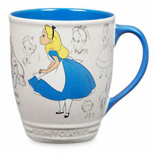 DIsney Store Alice in Wonderland Classic Animator's Collection Mug 16 oz  New