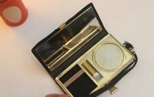 Vintage vanity case compact handbag combination