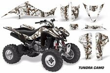 ATV Decal Graphic Kit Wrap For Suzuki LTZ400 Kawasaki KFX400 03-08 TUNDRA CAMO