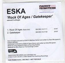 (GF202) Eska, Rock Of Ages / Gatekeeper - 2015 DJ CD