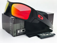 Sunglasses-Polarized Gascan¹Oakley Matte Black /Fire Iridium