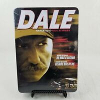 DALE EARNHARDT 6 DVDs tin box collection narrated by Paul Newman NEW! NASCAR