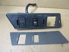 OLDSMOBILE CUTLASS 4 DOOR SEDAN 1991 POWER WINDOW LOCK SWITCH + BEZEL Rh front