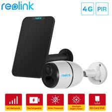 Reolink Go 1080P Solar Cámara de Vigilancia Móvil 3G/4G LTE Exterior con Batería