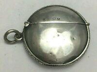 Antique Edwardian Sterling Silver Match Safe Vesta Case 1906