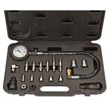 Diesel Engine Compression Cylinder Pressure Tester Gauge Set 0-1000 psi