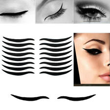 40 Pairs Smoky Tattoo Cat Eye Natural Eyeliner Sticker Double Eyelid Eye Makeup