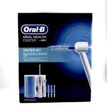 BRAUN Oral-B WATERJET Oral Irrigator Flosser MD16 +4 Heads BRAND NEW water jet