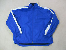 VINTAGE Ralph Lauren Polo Sport Jacket Adult 2XL XXL Blue White Coat Mens 90s *