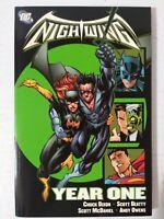 Nightwing Year One TPB First Print - DC graphic Novel Batman Superman Batgirl