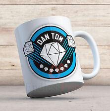 DAN TDM LOGO 11oz Mug - Birthday / Christmas Gift. The Diamond Minecart Cup
