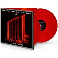 PHILLIP BOA & THE VOODOOCLUB Earthly Powers - 2LP / Red Vinyl (Collector's Edi.)