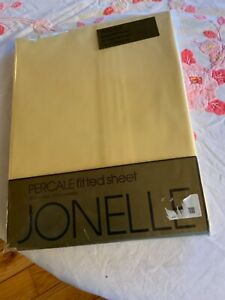 Jonelle (John Lewis) Yellow Percale Fitted Single Sheet Brand New