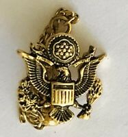 United States Military Crest Vietnam War Small Pin Badge Rare Vintage (H4)