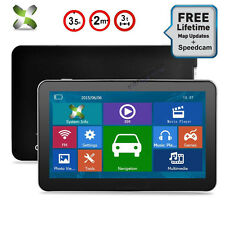 "7"" 8GB CAR TRUCK Bluetooth HGV LGV GPS Navigation SAT NAV FREE North America MAP"