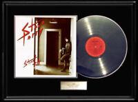 STEVE PERRY JOURNEY STREET TALK  WHITE GOLD SILVER PLATINUM TONE RECORD LP RARE