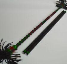 Aluminium Flower Stick green/red Devil Sticks Cool Juggling Stix Devilstick
