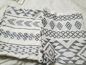 King Woven Stripe Shams - Set of 2 Shams