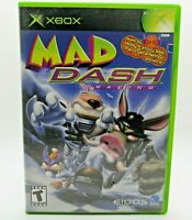 Mad Dash Racing - Microsoft Xbox - Complete Tested Working