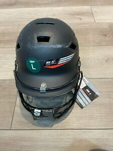 Schutt Air 5pt batting helmet - Black (6-3/8 - 7-3/4)