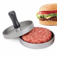 Round Shape Hamburger Press Aluminum Alloy Meat Beef Grill Burger Maker Mold