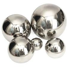 Miroir en acier inoxydable poli sphère creuse Ball maison jardin ornement Decor