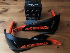 Acerbis X - Factory Universel Moto Protège Main & Kit D'Installation KTM Noir/
