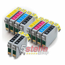 10 CARTUCCE COMPATIBILI PER EPSON STYLUS DX8400 DX 8400