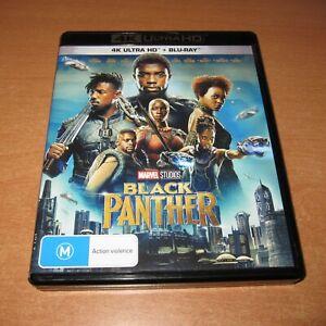 MARVEL : BLACK PANTHER ( 4K ULTRA HD + BLU-RAY ) / 2 DISC SET