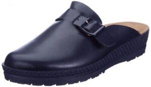 Rohde Clogs Mules Clinic/Kitchen Shoes Women's Blue 1447 Flat Heel