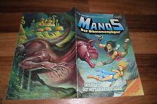 MANOS der DÄMONENJÄGER # 35 // 1.1.1984 -- mit Fantasy-Poster von Esteban Maroto