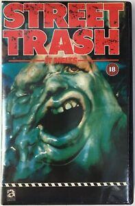 Street Trash (1986) VHS PAL Big Box Videocassette Tape 1987 Avatar Release -Mint