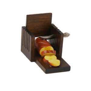 Bread Loaf Toast Slicer Cutter Mold Maker Dolls house Kitchen Slicing Tools
