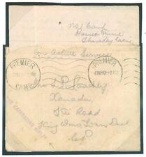 S.AFRICA WW2 Cover *KAFFRARIAN RIFLES* Cachet PREMIER CAMP Machine Letter M349
