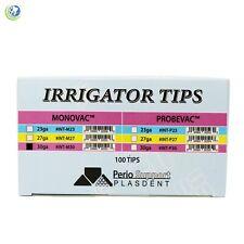 Dental Periodontal Endodontic Luer Lock Irrigation Needle Tips 30 Gauge 100pack