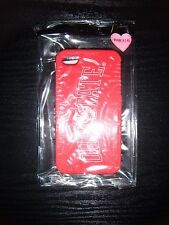 VICTORIA'S SECRET PINK OHIO STATE RED IPHONE 4/4S CELL PHONE CASE COVER NWT