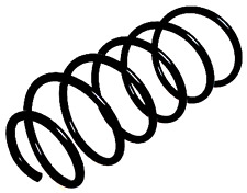 1x Volvo S60 1 2.4 D D5 Front Coil Spring 2000-2010 Saloon
