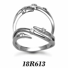 Solitaire Very Good Cut White Gold I1 Fine Diamond Rings