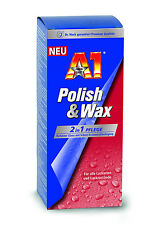 500 ml A1 POLISH & WAX Autopolish Autopolitur Lackversieglung Dr. Wack 2750