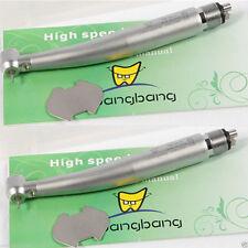 2 Turbina dentista Dental High Speed Fiber Optic E-generator LED Handpiece 4H-IT